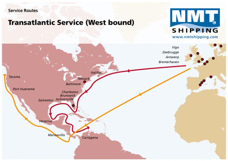 Europe & Africa | NMT Shipping — your global Ro/Ro specialist